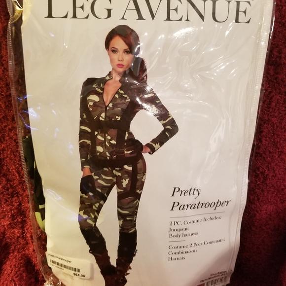 Leg Avenue Other - Paratrooper Halloween costume